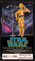 "Movie Posters:Science Fiction, Star Wars (20th Century Fox, 1981). NPR Poster (17"" X 29"") CeliaStrain Artwork. Science Fiction.. ..."