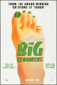 "The Big Lebowski (Polygram, 1998). UK Bus Stop (40"" X 60""). Comedy"