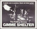"""Movie Posters:Rock and Roll, Gimme Shelter (20th Century Fox, 1970). Half Sheet (22"""" X 28""""). Rock and Roll.. ..."""