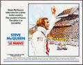 "Movie Posters:Sports, Le Mans (National General, 1971). Half Sheet (22"" X 28"") Tom Jung Artwork. Sports.. ..."
