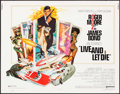 "Movie Posters:James Bond, Live and Let Die (United Artists, 1973). Half Sheet (22"" X 28"") Robert McGinnis Artwork. James Bond.. ..."