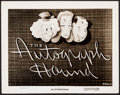 "Movie Posters:Animation, The Autograph Hound (RKO, 1939). Photo (8"" X 10.25""). Animation.. ..."