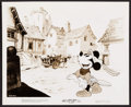 "Movie Posters:Animation, Mickey Mouse in The Brave Little Tailor (RKO, 1938). Photo (8"" X 10""). Animation.. ..."