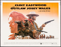 """The Outlaw Josey Wales (Warner Brothers, 1976). Half Sheet (22"""" X 28""""). Western"""