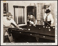 "Movie Posters:Comedy, Marx Brothers Playing Pool (RKO, 1938). Publicity Photo (8"" X 10"").Comedy.. ..."
