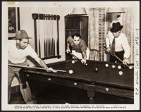 "Marx Brothers Playing Pool (RKO, 1938). Publicity Photo (8"" X 10""). Comedy"