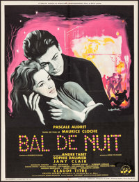 """Night Dance Hall (Comptoir Francais, 1959). French Affiche (23.25"""" X 30.75""""). Foreign"""