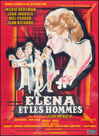 """Paris Does Strange Things (Cinedis, 1956). French Grande (45.5"""" X 63""""). Foreign"""