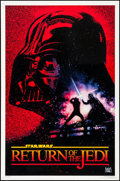 "Movie Posters:Science Fiction, Return of the Jedi (Kilian Enterprises, R-1993). 10th AnniversaryOne Sheet (27"" X 41"") SS Advance, Drew Struzan Artwork. Sc..."
