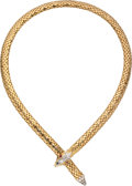 Estate Jewelry:Necklaces, Ruby, Gold Necklace . ...