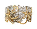 Estate Jewelry:Rings, Diamond, Platinum, Gold Eternity Band, Schlumberger for Tiffany& Co.. ...