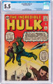 The Incredible Hulk #3 (Marvel, 1962) CGC FN- 5.5 Off-white pages