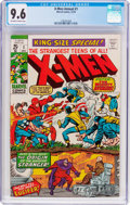 Bronze Age (1970-1979):Superhero, X-Men Annual #1 (Marvel, 1970) CGC NM+ 9.6 Off-white to white pages....