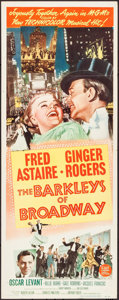 "Movie Posters:Musical, The Barkleys of Broadway (MGM, 1949). Insert (14"" X 36""). Musical.. ..."
