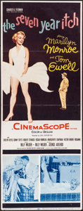"""Movie Posters:Comedy, The Seven Year Itch (20th Century Fox, 1955). Trimmed Insert (13.5"""" X 35.5""""). Comedy.. ..."""