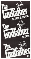 "Movie Posters:Crime, The Godfather (Paramount, 1972). Folded, Very Fine+. InternationalThree Sheet (41"" X 79""). S. Neil Fujita Artwork. Crime.. ..."