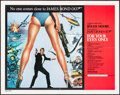 """Movie Posters:James Bond, For Your Eyes Only (United Artists, 1981). Half Sheet (22"""" X 28""""). James Bond.. ..."""