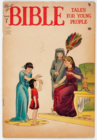Bible Tales for Young People #5 (Atlas, 1954) Condition: VG-