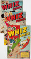 Whiz Comics Group of 10 (Fawcett Publications, 1945-52) Condition: Average VG/FN.... (Total: 10 Comic Books)