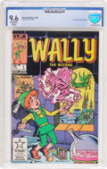 Modern Age (1980-Present):Humor, Wally the Wizard #1 (Marvel/Star Comics, 1985) CBCS NM+ 9.6Off-white to white pages....