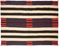 American Indian Art:Weavings, A Navajo Man's Wearing Blanket. Second Phase Chief's Pattern...