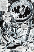 Original Comic Art:Splash Pages, Jim Starlin, Frank Giacoia, and David Hunt Marvel Premiere#8 Splash Page 15 Original Art (Marvel, 1973)....