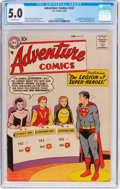 Silver Age (1956-1969):Superhero, Adventure Comics #247 (DC, 1958) CGC VG/FN 5.0 Off-white pages....