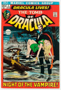 Bronze Age (1970-1979):Horror, Tomb of Dracula #1 (Marvel, 1972) Condition: FN....