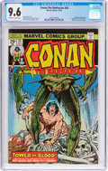 Bronze Age (1970-1979):Superhero, Conan the Barbarian #43 (Marvel, 1974) CGC NM+ 9.6 Off-white to white pages....