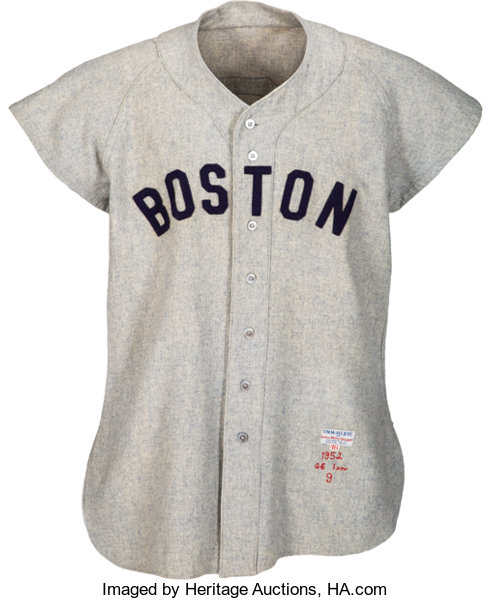 new style 15b2b 68fe1 1952 Ted Williams Game Worn Boston Red Sox Jersey, MEARS A10 ...
