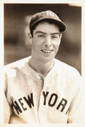 Baseball Collectibles:Photos, 1930's Joe DiMaggio Original Photograph by George Burke, PSA/DNAType 1. ...