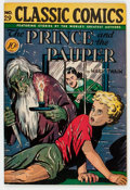 Golden Age (1938-1955):Classics Illustrated, Classic Comics #29 The Prince and the Pauper - First Editon(Gilberton, 1946) Condition: FN....