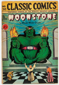 Golden Age (1938-1955):Classics Illustrated, Classic Comics #30 The Moonstone - First Edition (Gilberton, 1946) Condition: FN+....
