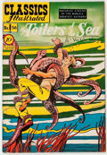 Golden Age (1938-1955):Classics Illustrated, Classics Illustrated #56 Toilers of the Sea - First Edition(Gilberton, 1949) Condition: VF-....