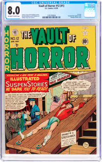 Vault of Horror #12 (EC, 1950) CGC VF 8.0 Off-white to white pages