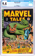 Golden Age (1938-1955):Horror, Marvel Tales #95 (Marvel, 1950) CGC NM 9.4 Off-white to whitepages....