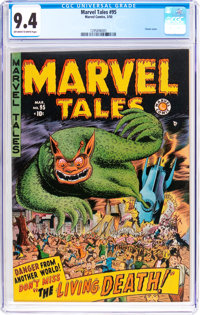 Marvel Tales #95 (Marvel, 1950) CGC NM 9.4 Off-white to white pages