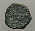 Ancients:Ancient Lots  , Ancients: JUDAEA. Hasmonean. Alexander Jannaeus. Lot of three (3)AE prutahs. Fine.... (Total: 3 coins)