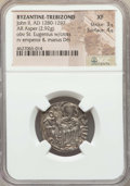 Ancients:Byzantine, Ancients: EMPIRE OF TREBIZOND. John II (AD 1280-1297). AR asper(2.92 gm). NGC XF 3/5 - 4/5....