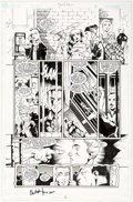 Original Comic Art:Panel Pages, Justiniano and Chris Ivy Beast Boy #2 Story Page 5 OriginalArt (Marvel, 2000)....