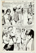 Original Comic Art:Panel Pages, John Rosenberger Girls Romances #133 Partial Story OriginalArt Group of 16 (DC, 1968).... (Total: 16 Original Art)