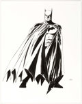 Original Comic Art:Illustrations, John Cassaday - Batman Illustration Original Art (undated)....