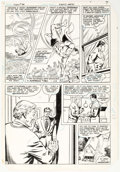 Original Comic Art:Panel Pages, Curt Swan an Dave Hunt Superman #381 Story Page 5 Original Art (DC, 1983)....