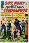 Silver Age (1956-1969):War, Sgt. Fury and His Howling Commandos #5 (Marvel, 1964) Condition: VG/FN....