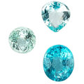 Estate Jewelry:Unmounted Gemstones, Unmounted Tourmaline, Apatite. ... (Total: 3 Items)