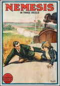 """Movie Posters:Foreign, Nemesis (European Feature Film Corporation, 1914). One Sheet (27"""" X 41""""). Foreign.. ..."""