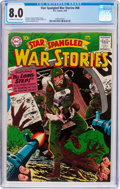 Silver Age (1956-1969):War, Star Spangled War Stories #68 (DC, 1958) CGC VF 8.0 Off-white to white pages....