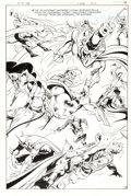 Original Comic Art:Splash Pages, Jim Aparo The Brave and the Bold #188 Page 15 Original Art(DC, 1982)....