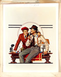 """Movie Posters:Crime, The Sting by Bill Gold Advertising (Universal, 1973). PosterConcept Images (3) (20"""" X 30""""), Richard Amsel Print and Rubylit...(Total: 4 Items)"""