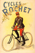 """Movie Posters:Miscellaneous, Cycles Rochet (Camis, c. 1890's). Advertising Poster (49"""" X 74.5""""). Oliver Pichat Artwork.. ..."""